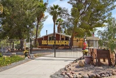 Menifee Single Family Home For Sale: 32237 Murrieta Road