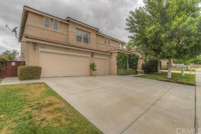 Wildomar Single Family Home For Sale: 35181 El Diamante Drive