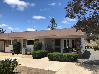 Oceanside Single Family Home For Sale: 3655 Vista Campana N #2