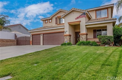 Menifee Single Family Home For Sale: 25256 Robinson Creek Lane