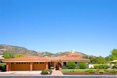 Murrieta Single Family Home For Sale: 38141 Bear Canyon Drive