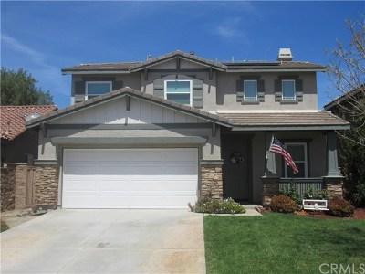 Winchester Single Family Home For Sale: 36401 Capri Drive