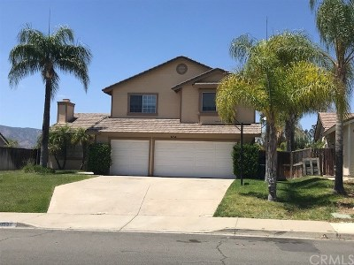 Wildomar Single Family Home For Sale: 35119 Pashal Place