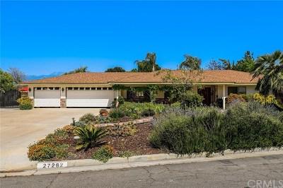 Hemet Single Family Home For Sale: 27282 Point Loma Court