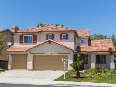 Temecula Single Family Home For Sale: 30768 Eastgate Parkway
