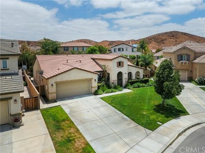 Menifee Single Family Home For Sale: 31166 Millbury Drive