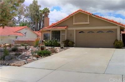 Wildomar Single Family Home For Sale: 35355 Frederick Street