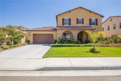 Winchester Single Family Home For Sale: 32585 Presidio Hills Lane