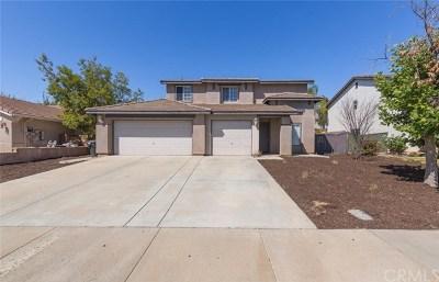 Wildomar Single Family Home For Sale: 23038 Catt Road