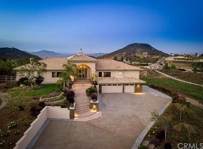 Murrieta CA Single Family Home For Sale: $1,529,000