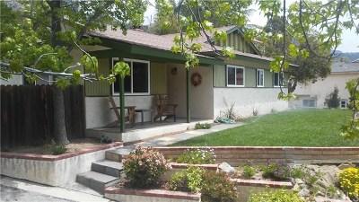 Tujunga Single Family Home For Sale: 10918 Sevenhills Drive