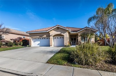 Murrieta Single Family Home For Sale: 23492 Bending Oak Court