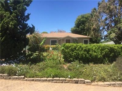 Fallbrook Single Family Home For Sale: 631 W Elder Street