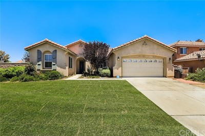 Menifee Single Family Home For Sale: 29250 Woodbine Lane