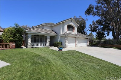Temecula CA Single Family Home For Sale: $589,900
