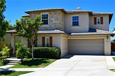 Carlsbad Single Family Home For Sale: 3443 Pleasant Vale Drive
