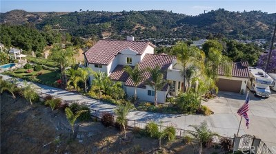 Fallbrook Single Family Home For Sale: 4024 Crest Heights