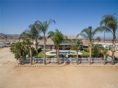 Riverside, Temecula Single Family Home For Sale: 18923 Crop Road