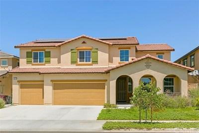 Murrieta Single Family Home For Sale: 34873 Star Jasmine Place