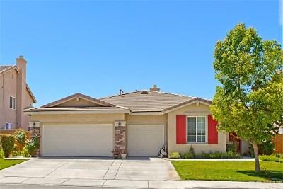 Menifee Single Family Home For Sale: 27705 Bluff Vista Way