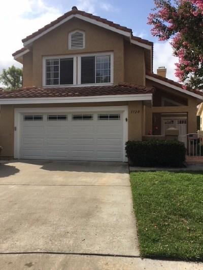 Vista Single Family Home For Sale: 1120 Brioso Court