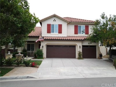 Wildomar Single Family Home For Sale: 33680 Harvest Way E