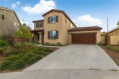 Menifee Single Family Home For Sale: 30027 Whembly Circle
