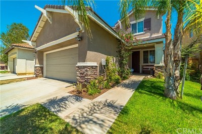 Menifee Single Family Home For Sale: 29340 Castlewood Drive