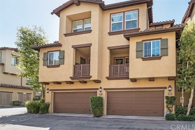 Irvine Condo/Townhouse For Sale: 144 Coral Rose