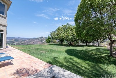 Riverside, Temecula Single Family Home For Sale: 46250 Via Vaquero