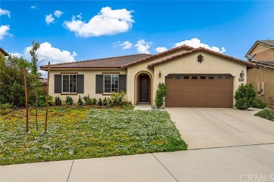 Menifee Single Family Home For Sale: 29966 Loy Drive