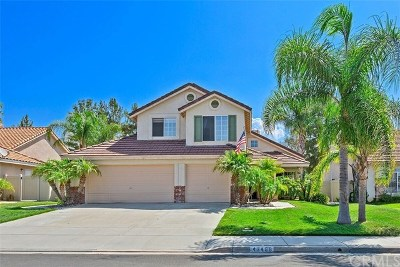 Temecula Single Family Home For Sale: 43496 Via Candeleda