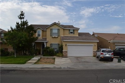 Perris Single Family Home For Sale: 1466 Cheshire Drive