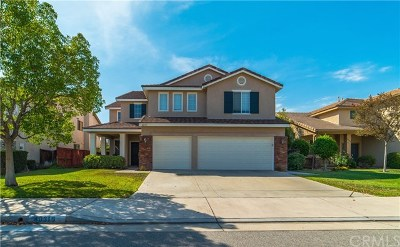 Murrieta CA Single Family Home For Sale: $483,000