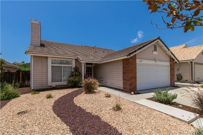 Murrieta CA Single Family Home For Sale: $389,900