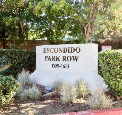 Escondido Condo/Townhouse For Sale