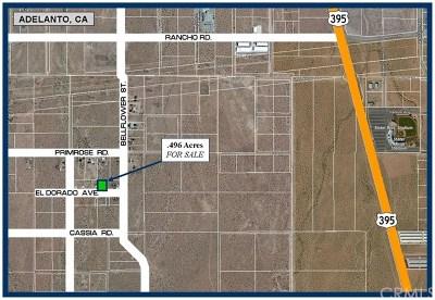 Adelanto Residential Lots & Land For Sale: El Dorado Avenue