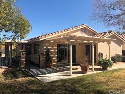 Menifee Single Family Home Active Under Contract: 27425 Calle Rabano