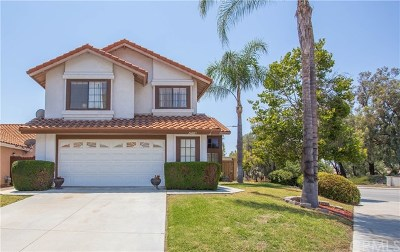Murrieta Single Family Home For Sale: 24003 Manresa Court