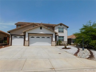 Wildomar Single Family Home For Sale: 33789 Harvest Way E