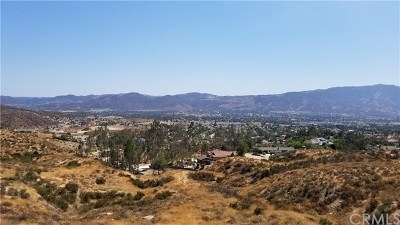Wildomar Residential Lots & Land For Sale: Vista Del Agua