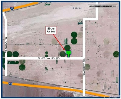 Barstow CA Residential Lots & Land For Sale: $150,000
