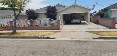 Norwalk Single Family Home For Sale: 12018 Pluton Street