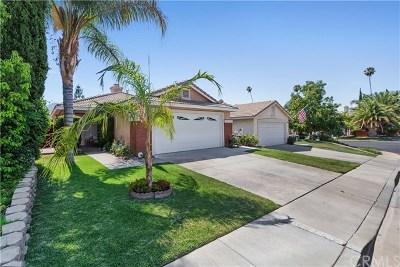 Corona Single Family Home For Sale: 3132 Rowena Drive