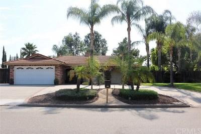 Riverside Single Family Home For Sale: 16430 Lois Lane