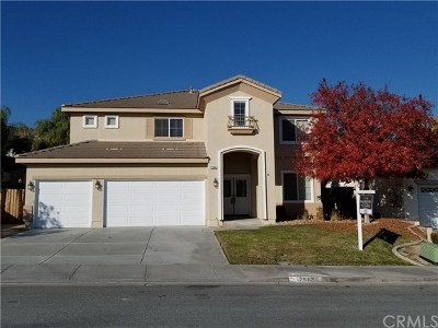 Menifee Single Family Home For Sale: 25086 Painted Canyon Court