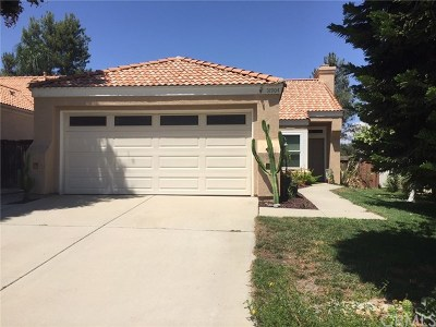 Temecula Single Family Home For Sale: 31904 Corte Pollensa