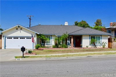 La Habra Single Family Home For Sale: 1321 N Orange Street