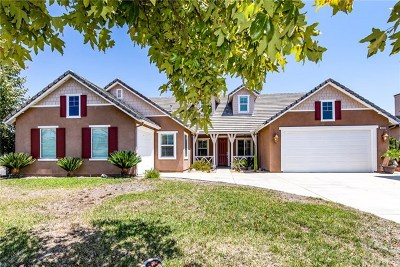 Winchester Single Family Home For Sale: 36358 Mimosa Tree Road