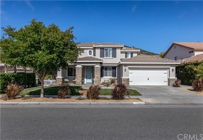 Murrieta CA Single Family Home For Sale: $516,500